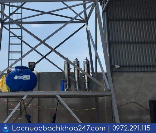 Dự án lọc nước máy cho nhà xưởng khu vực Bình Chánh