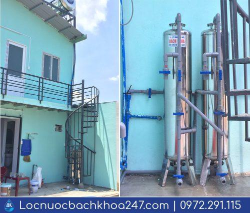 Dự án xử lý nước giếng khoan ở Củ Chi – Bách Khoa