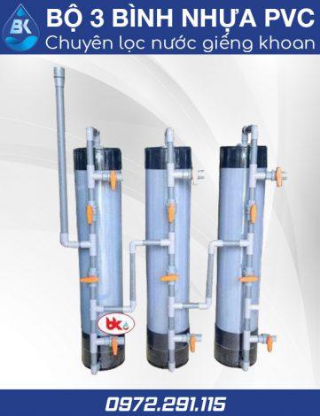 Bộ chuyên lọc nước giếng khoan PVC - Lọc nước Bách Khoa